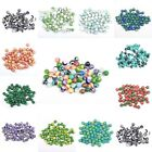Lots of 50 Pcs Natural Gemstone Round Spacer Loose Beads For Necklace/Bracelet