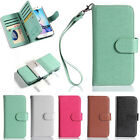 For Samsung Galaxy New Magnetic 9 Card Slot Wallet Flip Leather Phone Case Cover