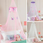 Childrens Girls Bed Canopy Mosquito Fly Netting - Ruffle Or Butterfly, 30x230cm