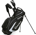 New TaylorMade Purelite Golf Stand Bag 2015 Black/White Only 4.5 Pounds!