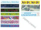 CLEARANCE - PARTY BANNERS (Decoration/Birthday/Christening/Good Luck/Engagement)