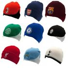 Official Football Club - KNITTED HAT (Reversible Hat) Ski/Beanie (Gift/Clothing)