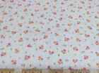 Discount Fabric Quilting Cotton Pink and Orange Floral CT035