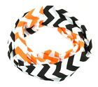 Chevron Plaid Scarf Football Handmade Infinity Orioles Giants Gameday Tailgate
