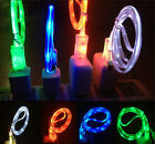 3.3FT LED Light Micro USB Charger Data Sync Cable for Samsung Galaxy S3/4 New