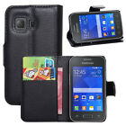 For Galaxy Young2 G130 Fashion Book Style Stand Cover Case Card Holder