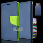 For BLU Studio Leather PU WALLET POUCH Cover Colors
