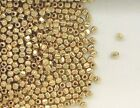 12K Gold Filled 2.5mm Faceted Accent Spacer Beads, Choice of Lot Size-Price