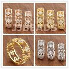 1pc Good Lucky Four Leaf Clover Czech Crystal Crystal Happiness Lady Finger Ring