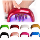 Portable 9W LED CCFL Nail Art UV Lamp Light Dryer Curing Machine Gel Nail Polish