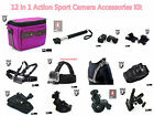 G5 Body Shoulder Strap/Wrist/Monopod/Car Mount/Clamp Clip/Case for Action Cam