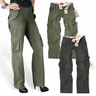SURPLUS LADIES' TROUSERS PANT LADIES CARGO ARMY VINTAGE MILITARY PREMIUM 34-42