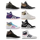 ADIDAS Top Ten Hi Sleek Vulc Lady Sneaker Ankle Trainers UK 3-9 Var. Colours New