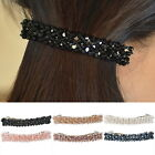 BD 1PC Womens Hair Accessories Crystal Hair Barrette Clip Grip Bridesmaids