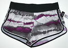 Nwt New Xersion Running Wind Shorts Panty Mid Rise Purple Gray Splash Cute Women