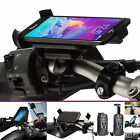 Motorcycle 21-30mm Dia Strap Mount + Holder For Samsung Galaxy Note 4 Note 5