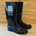 Town & Country Bardon Black Glossy Ladies Wellington Boots Wellies UK 3 4 5 6 7