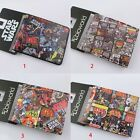 Movie Film Star Wars Colorful PU Faux Leather Short Purse Wallet