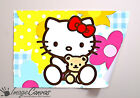 HELLO KITTY GIANT WALL ART POSTER A0 A1 A2