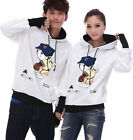 4 Colors Doraemon Baseball Lovers Couples Hoodie Thick warm Women Men LWB5083