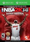 XBOX 360/ONE NBA 2K14 Video Game Download Code SUPER FAN PACK 2014 basketball