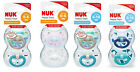 Nuk Happy Days Silicone Soothers 2pk Size 1 / Size 2 Available