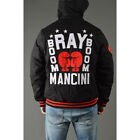 Roots of Fight Ray Boom Boom Mancini Canvas Jacket - Black/Red