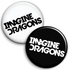 Imagine Dragons Button Badge - 25mm 1 inch Indie Music Rock