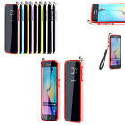 Luxury Aluminum Alloy Metal Bumper Frame with Lanyard for Samsung Galaxy S6 Edge