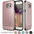 Luxury Armor Hard Bumper Soft Rubber Matte Case Cover For Samsung Galaxy Phone