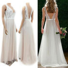 New Long Evening Formal Party Cocktail Maxi Dress Bridesmaid Prom Wedding Gown *