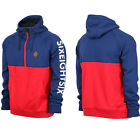 2015/16 686 Virtue Bonded Half Zip Fleece Hoody Red Indigo.