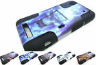 2Layer T-Stand Slim Case Cover For ZTE Boost Max Max+ N9520 N9521 Phone