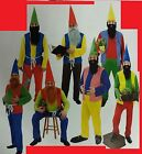ADULT MENS 7 DWARVES SEVEN PANTO GNOME DWARFS STAG FANCY DRESS COSTUME OUTFIT