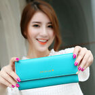 Hot women wallet fashion pu leather ladies purse long wallet Card Holder bags