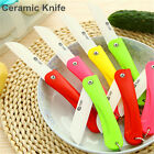 1 Pcs Newest Folding Ceramic Knife Kitchen Fruit Knife With Colourful ABS Handle