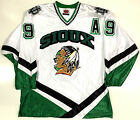 JONATHAN TOEWS NORTH DAKOTA FIGHTING SIOUX WHITE JERSEY CHICAGO BLACKHAWKS