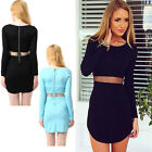 Fashion Women Summer Bodycon Casual Party Evening Cocktail Short Mini Dress a6