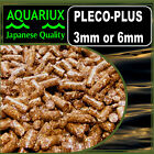 Aquariux Pleco-Plus pellets fish feed pellets for all pleco & catfish +stim-x