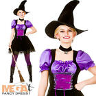 Hocus Pocus Witch Ladies Fancy Dress Womens Halloween Adults Costume Outfits New