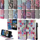 For HTC Desire 626 626S Flip Wallet LEATHER Skin POUCH Case Phone Cover + Pen