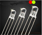 3MM 5MM 3pin Common Anode/Cathode LED Light Round Lamp Emitting Red Green Diode