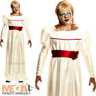 The Conjuring Annabelle Mens Fancy Dress Halloween Horror Doll Adults Costume