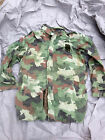 Serb Yugoslavian Winter Parka and Liner 89 Woodland Camouflague Jacket