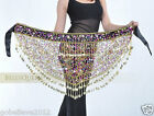 Hot! Brand New Belly Dance Hip Scarf Belt 100% Hand Crocheted 2 Colors Available