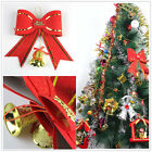Xmas Gifts Bow Hanging Merry Christmas Tree Ornament Garden Party Decoration New