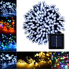 Solar Powered LED String Fairy Light 72ft 22m 200 LEDs Outdoor Garden Waterproof