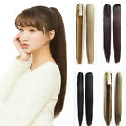 Straight Hair Extension Long Claw Clip In Ponytail Hairpiece Hair Accessories