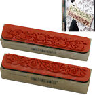 New Classical Wooden Rubber Flower Lace Stamp Floral Seal Nostalgia Wedding