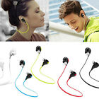 Bluetooth Wireless Headset Stereo Headphone Earphone Sport Universal Handfree RR